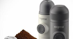 Una maquina para el espreso que funciona sin electricidad